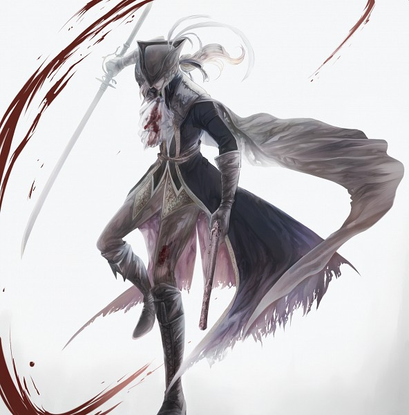 Tags: Anime, Pixiv Id 947917, Bloodborne: The Old Hunters, Bloodborne, Lady Maria of the Astral Clocktower, Fanart From Pixiv, Pixiv, Fanart
