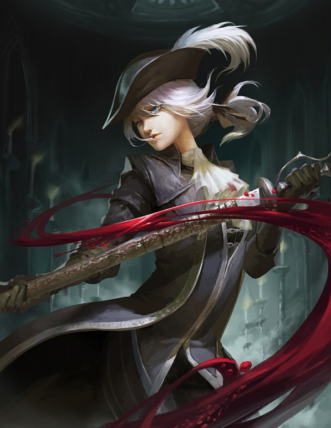 Tags: Anime, Pixiv Id 726131, Bloodborne, Bloodborne: The Old Hunters, Lady Maria of the Astral Clocktower, Fanart From Pixiv, Pixiv, Fanart