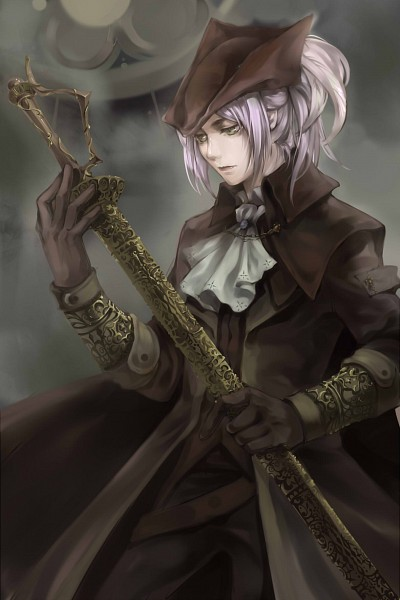 Tags: Anime, Pixiv Id 10013717, Bloodborne, Bloodborne: The Old Hunters, Lady Maria of the Astral Clocktower, Fanart From Pixiv, Pixiv, Fanart