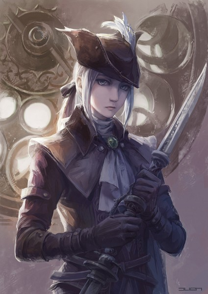Tags: Anime, Pixiv Id 12572640, Bloodborne: The Old Hunters, Bloodborne, Lady Maria of the Astral Clocktower, Fanart From Pixiv, Pixiv, Fanart