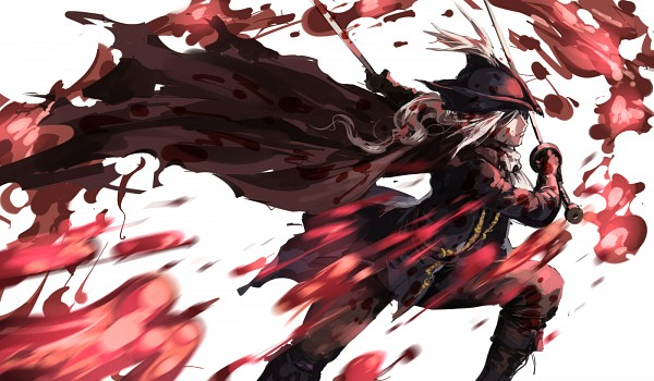 Tags: Anime, Pixiv Id 4489330, Bloodborne, Bloodborne: The Old Hunters, Lady Maria of the Astral Clocktower, Fanart From Pixiv, Pixiv, Fanart