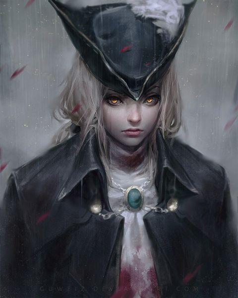 Tags: Anime, GUWEIZ, Bloodborne: The Old Hunters, Bloodborne, Lady Maria of the Astral Clocktower, Fanart From DeviantART, deviantART, Mobile Wallpaper, Fanart
