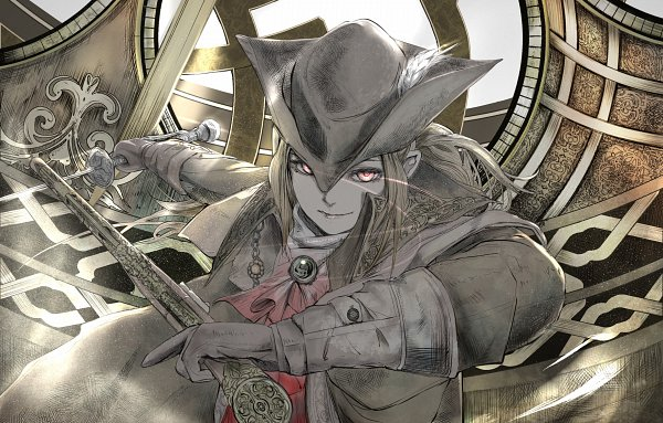 Tags: Anime, Bloodborne: The Old Hunters, Bloodborne, Lady Maria of the Astral Clocktower, Artist Request