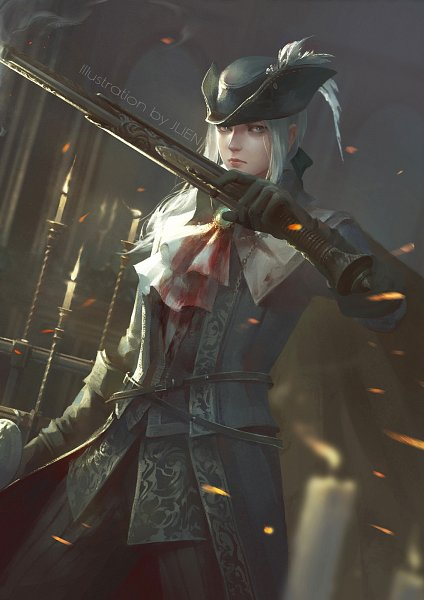 Tags: Anime, Pixiv Id 12572640, Bloodborne, Bloodborne: The Old Hunters, Lady Maria of the Astral Clocktower, Fanart From Pixiv, Pixiv, Fanart