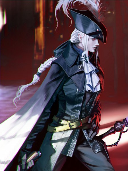 Tags: Anime, Moruga, Bloodborne: The Old Hunters, Bloodborne, Lady Maria of the Astral Clocktower, Fanart From Pixiv, Pixiv, Fanart