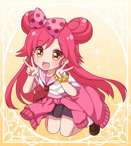 Tags: Anime, Ringo Yuyu, Lady Jewelpet, Lady Momona, Double V, Fanart From Pixiv, Pixiv, Fanart