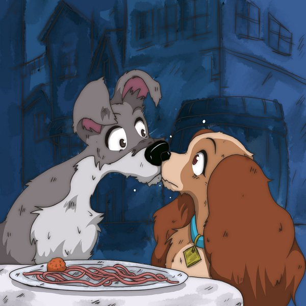 Lady and the Tramp - Disney