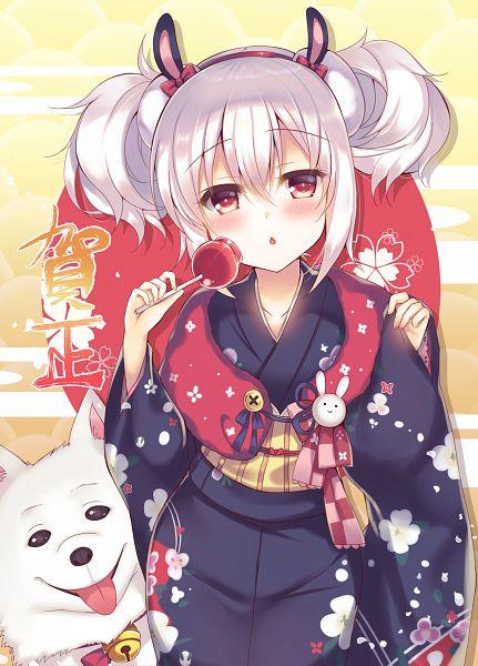 Tags: Anime, Suzune Rena, Azur Lane, Laffey (Azur Lane), Candy Apple, Happy 2018