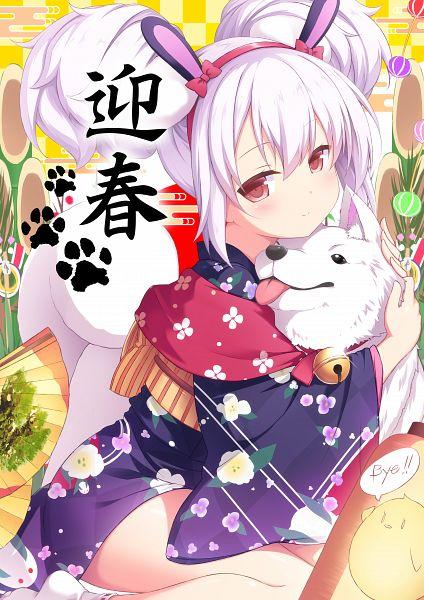 Tags: Anime, Sasakura Momizi, Azur Lane, Laffey (Azur Lane), Happy 2018