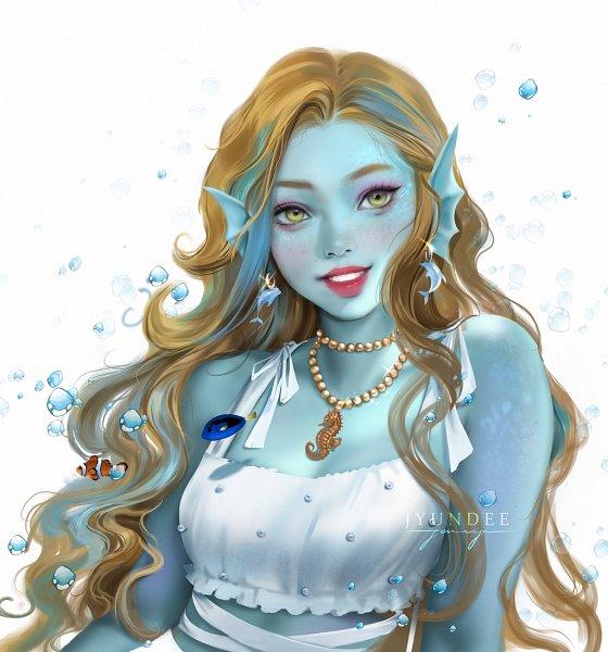 Tags: Anime, Jyundee, Monster High, Lagoona Blue