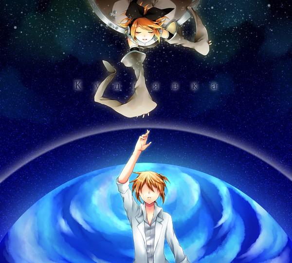 Tags: Anime, Hinata / 日向, VOCALOID, Kagamine Len, Kagamine Rin, Gray Dress, Pixiv, Laika (VOCALOID)