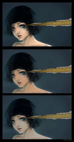 Tags: Anime, Lan Wu, Original, deviantART