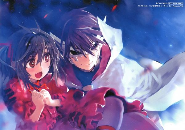 Tags: Anime, Bob (Biyonbiyon), Lance N' Masques, Kidouin Makio, Hanabusa Youtarou, Scan, End Cards, Lance N' Masques - End Cards
