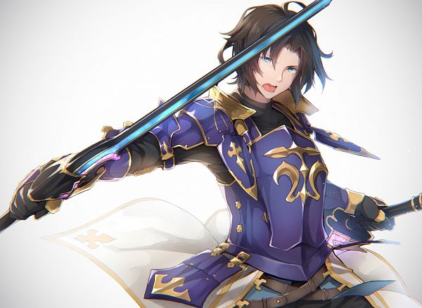 Tags: Anime, Nanahara Fuyuki, Granblue Fantasy, Lancelot (Granblue Fantasy)