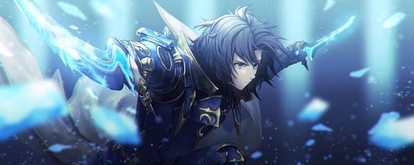 Tags: Anime, Pixiv Id 301644, Granblue Fantasy, Lancelot (Granblue Fantasy), Fanart From Pixiv, Pixiv, Fanart