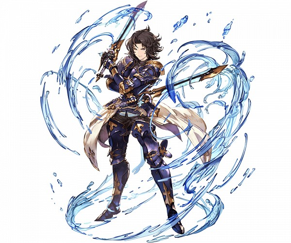 Tags: Anime, Minaba Hideo, Cygames, Granblue Fantasy, Lancelot (Granblue Fantasy), PNG Conversion, Official Art, Cover Image