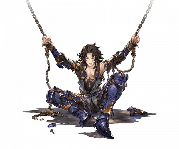 Tags: Anime, Minaba Hideo, Cygames, Granblue Fantasy, Lancelot (Granblue Fantasy), Cover Image, Official Art