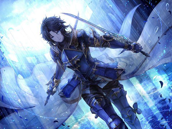 Tags: Anime, Pixiv Id 1241621, Granblue Fantasy, Lancelot (Granblue Fantasy), Wallpaper