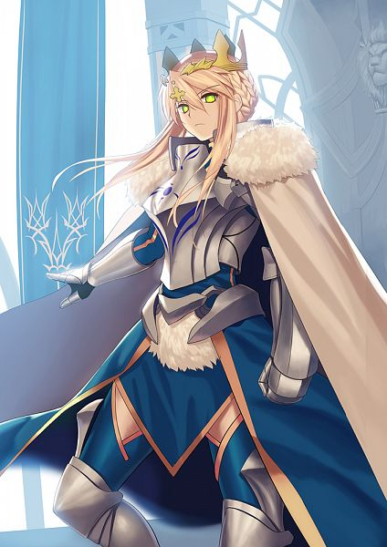 Tags: Anime, Tsukikanade, Fate/Grand Order, Saber (Fate/stay night), Lancer (Artoria Pendragon), PNG Conversion, Mobile Wallpaper