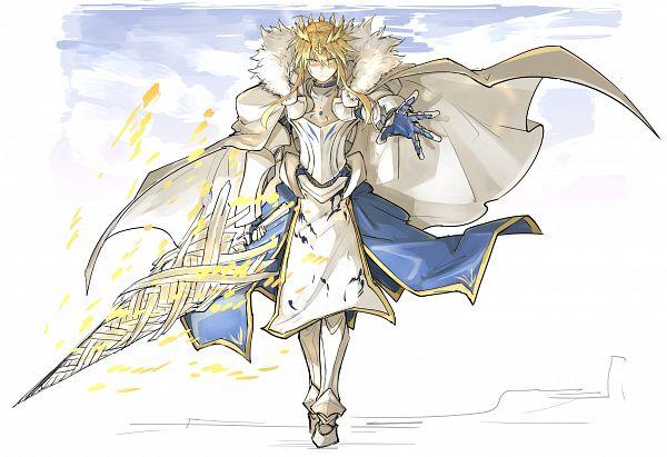 Tags: Anime, Kan (kankan33333), Fate/Grand Order, Lancer (Artoria Pendragon), Saber (Fate/stay night), Fanart, Fanart From Pixiv, Pixiv