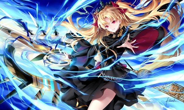 Tags: Anime, Kousaki Rui, Fate/Grand Order, Tohsaka Rin, Lancer (Ereshkigal), Meslamtaea, Fanart, Fanart From Pixiv, Pixiv