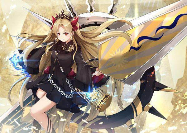 Tags: Anime, Pixiv Id 14016789, Fate/Grand Order, Lancer (Ereshkigal), Tohsaka Rin, Meslamtaea