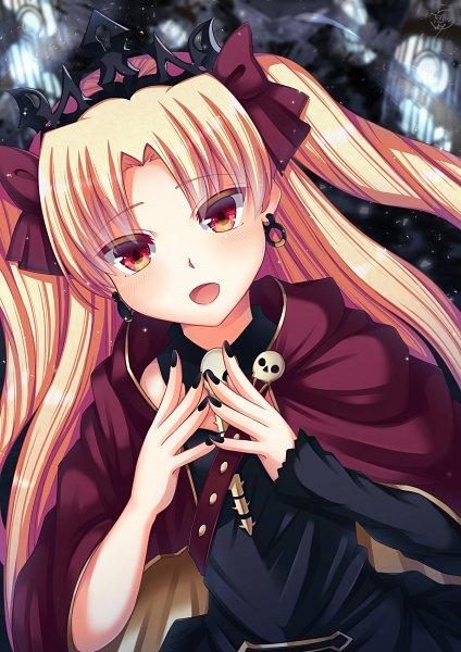 Tags: Anime, Pixiv Id 32229587, Fate/Grand Order, Tohsaka Rin, Lancer (Ereshkigal)