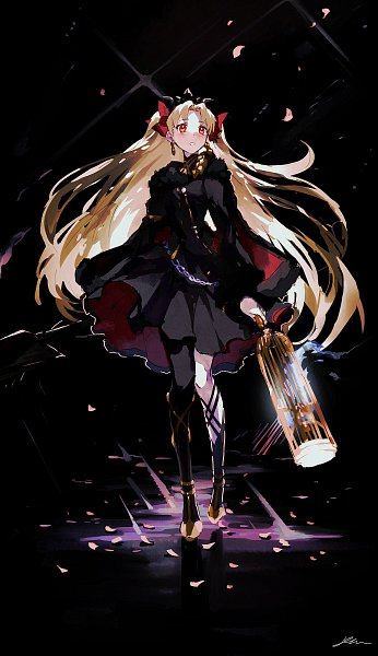 Tags: Anime, Pixiv Id 3393042, Fate/Grand Order, Lancer (Ereshkigal), Tohsaka Rin, Pixiv, Fanart, Fanart From Pixiv