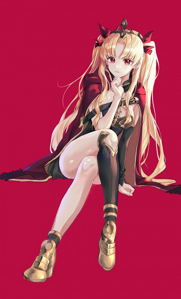 Tags: Anime, sijosae, Fate/Grand Order, Lancer (Ereshkigal), Tohsaka Rin, Pixiv, Fanart, Fanart From Pixiv