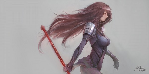 Tags: Anime, raikoart, Fate/Grand Order, Lancer (Fate/Grand Order), Pixiv, Fanart, Fanart From Pixiv