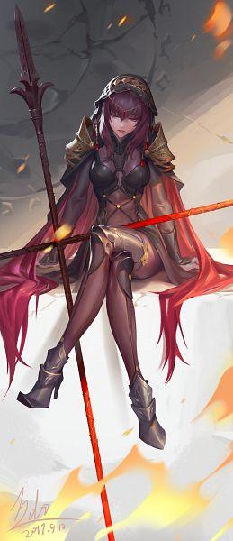 Tags: Anime, Li Didivi, Fate/Grand Order, Lancer (Fate/Grand Order), Pixiv, Fanart, Fanart From Pixiv