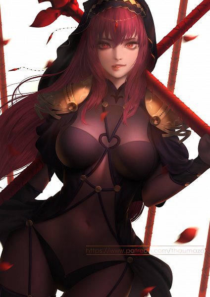 Tags: Anime, Sylee, Fate/Grand Order, Lancer (Fate/Grand Order), Bitting Lip, Biting Lip, Fanart, Fanart From Pixiv, Pixiv