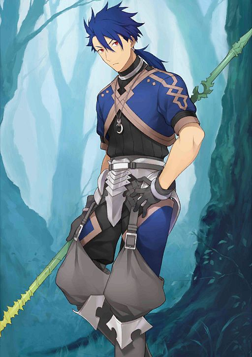 Lancer (Fate/Prototype) - Lancer (Fate/stay night)