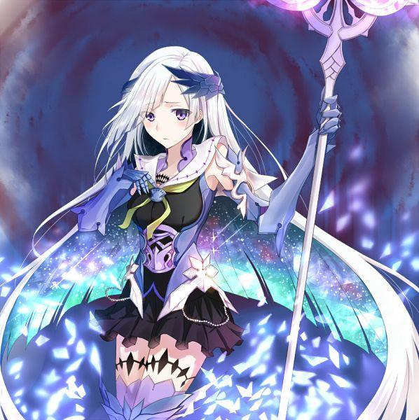 Tags: Anime, Tsuedzu, Fate/Grand Order, Lancer (Fate/Prototype: Sougin no Fragments), Brynhildr Romantia, PNG Conversion