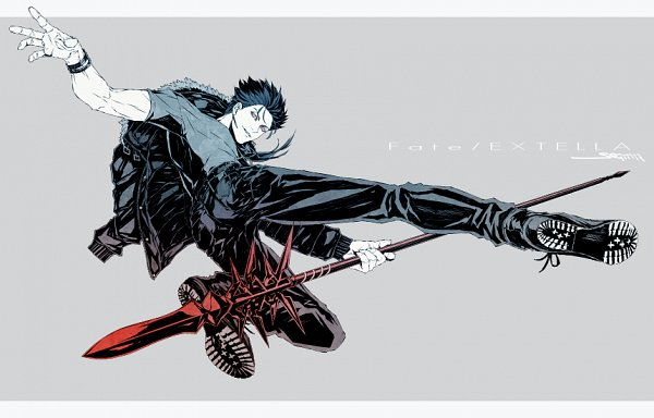 Tags: Anime, Pixiv Id 2018265, Fate/stay night, Lancer (Fate/stay night), Fanart, Fanart From Pixiv, Pixiv