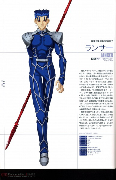 Lancer (Fate/stay night) - Fate/stay night