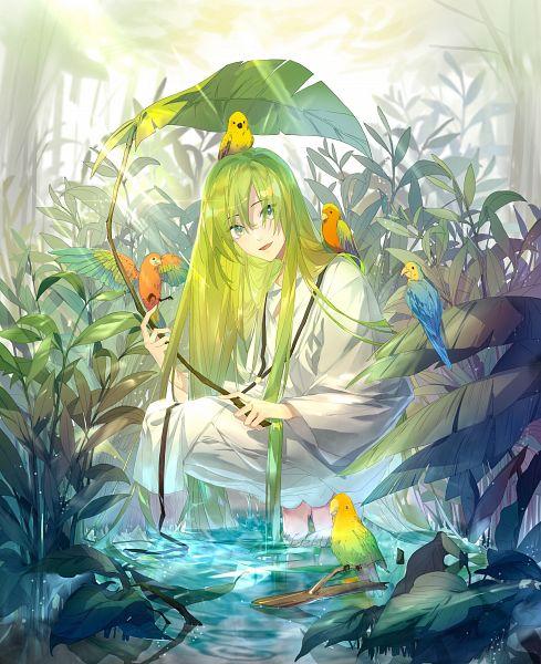 Tags: Anime, Pixiv Id 3982016, Fate/Grand Order, Lancer (Fate/strange fake), Fanart From Pixiv, Pixiv, Fanart