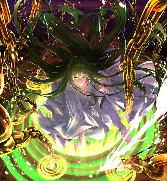 Tags: Anime, Pixiv Id 2230134, Fate/Grand Order, Lancer (Fate/strange fake), Enkidu (Weapon), Fanart From Pixiv, FGO Iracon 2, Pixiv, Fanart