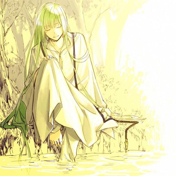 Tags: Anime, Ei1023, Fate/Grand Order, Lancer (Fate/strange fake), Pixiv, Fanart, Fanart From Pixiv