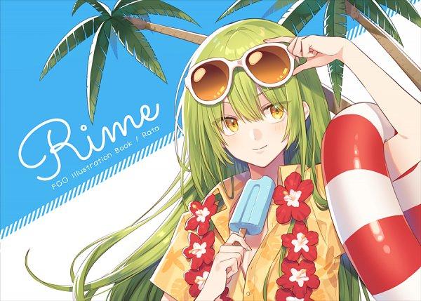 Tags: Anime, Mono (Miso Kuronowish), Fate/strange fake, Lancer (Fate/strange fake), Hawaiian Shirt, Facebook Cover, Pixiv, Fanart, Fanart From Pixiv