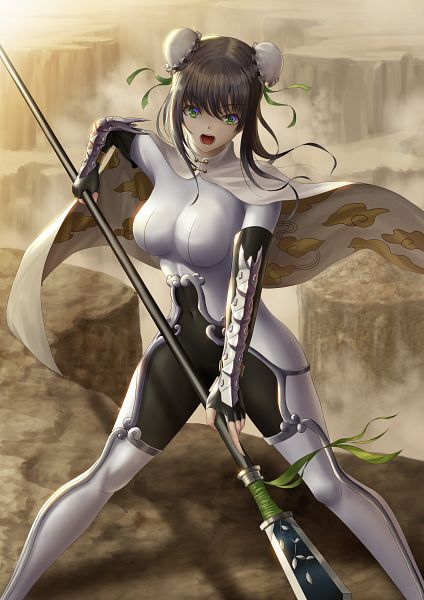 Tags: Anime, Pixiv Id 5307537, Fate/Grand Order, Lancer (Qin Liangyu), Fanart From Pixiv, Pixiv, Fanart