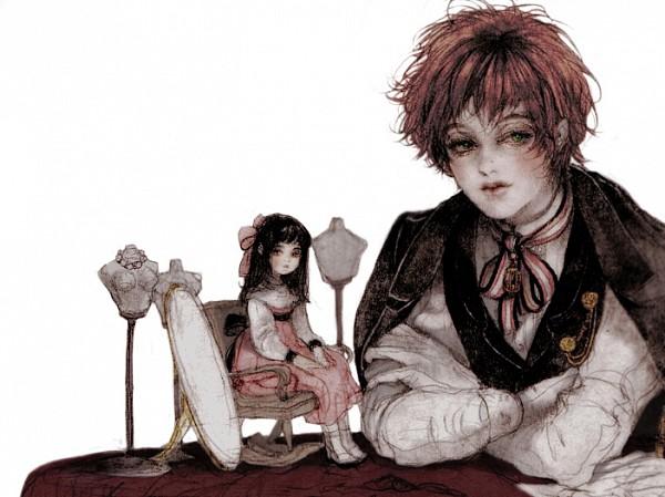Tags: Anime, Laphet, Original, Pixiv