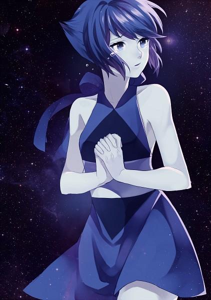 Tags: Anime, Whispey, Steven Universe, Lapis Lazuli (Steven Universe), Galaxy, Tumblr, Mobile Wallpaper, PNG Conversion, Fanart