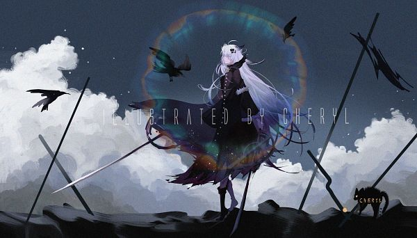 Tags: Anime, Pixiv Id 19580234, Arknights, Lappland, Pixiv, Arknights Battle Illustration Contest