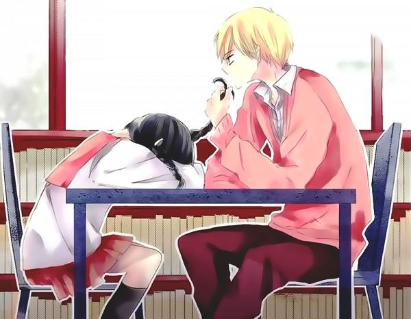 Tags: Anime, Amano Shinobu, Last Game, Mikoto Kujou, Yanagi Hisato