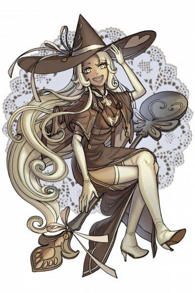 Tags: Anime, Cheno, Cookie Run: Kingdom, Cookie Run, Latte Cookie, Brown Dress, Brown Headwear, Fanart From Pixiv, Pixiv, Fanart