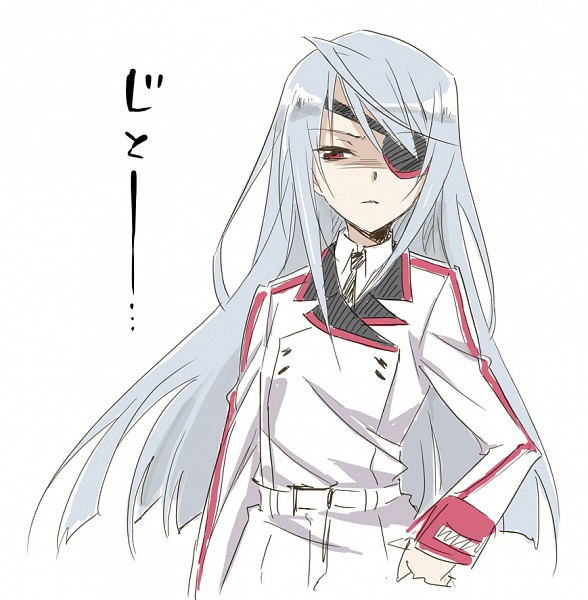 Tags: Anime, Agahari, Infinite Stratos, Laura Bodewig