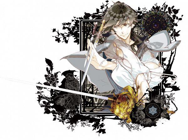 Tags: Anime, Yuiga Satoru, Otomate, Haitaka no Psychedelica, Lavan (Haitaka no Psychedelica), Official Art, PNG Conversion