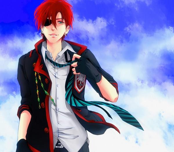 Tags: Anime, Chiruta, D.Gray-man, Lavi, Adjusting Tie, Pixiv