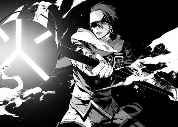 Tags: Anime, Ginmu, D.Gray-man, Lavi, Hammer (Weapon), Fanart, Pixiv, Fanart From Pixiv